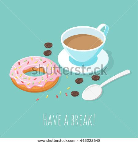 isometric vector 3d illustration cup coffee stock vector