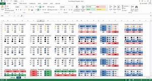 Excel Template  U2013 Ratings Chart