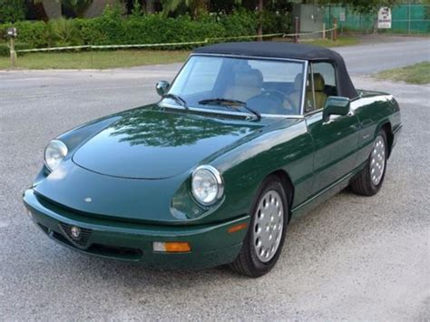 1994 Alfa Romeo Spider For Sale by 1994 Alfa Romeo Spider Classic Car Orlando Fl 32899