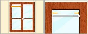 Tringle Rideau Extensible Autobloquante : poser une barre de vitrage rideaux ~ Premium-room.com Idées de Décoration