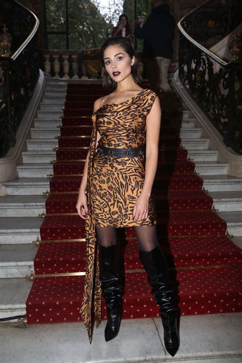 olivia culpo john galliano fashion show  paris