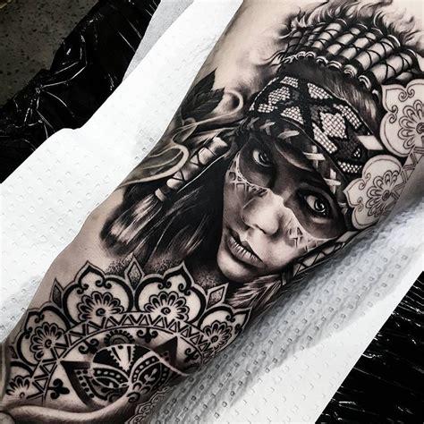 people tattoo  girl  indian