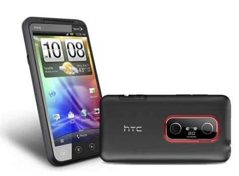 htc 3d phone htc evo 3d bluetooth wifi 4g pda android phone sprint