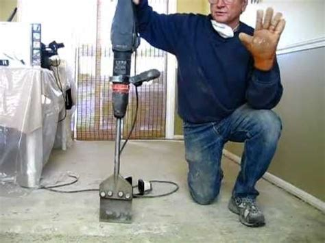 remove tile mastic  thinset  easy