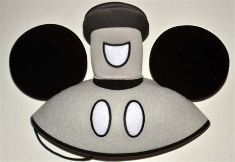 Steamboat Hat by Steamboat Willie Black And White Hat Mickey Mouse Ears