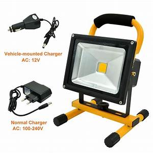 Mengsled mengs? w rechargeable led flood light lm