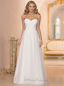 sweetheart crystal beaded a line wedding dresses 2444093 With beaded a line wedding dresses