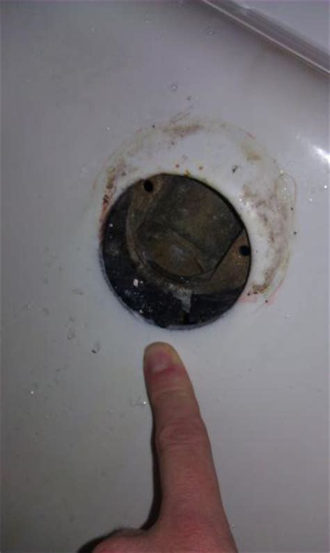 bathtub overflow gasket water leak from 2nd floor between floors need a sanity