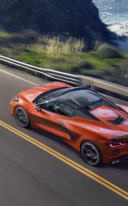 Corvette C8 Orange Chevrolet Wallpapersmug Wallpapers Iphone