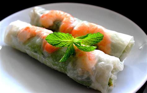 cuisine bon appetit rouleaux de printemps au porc et au crevettes vietnamien