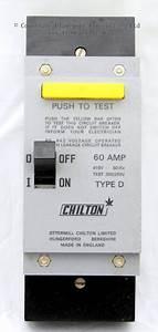 Obsolete Ottermill Chilton Earth Leakage Circuit Breaker