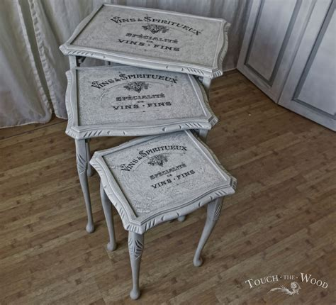 shabby chic tables for sale shabby chic nest of tables no 15 on sale touch the wood