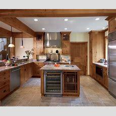Knotty Alder Kitchen Cabinets In Natural Finish Kitchen