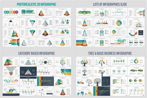 business infographic  powerpoint template