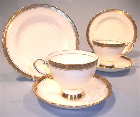 tuscan vintage bone china tea set sold collectable china