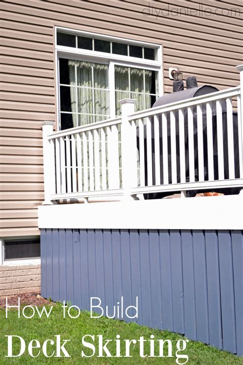 Diy Deck Skirting Ideas by Diy Deck Skirting Diy Danielle