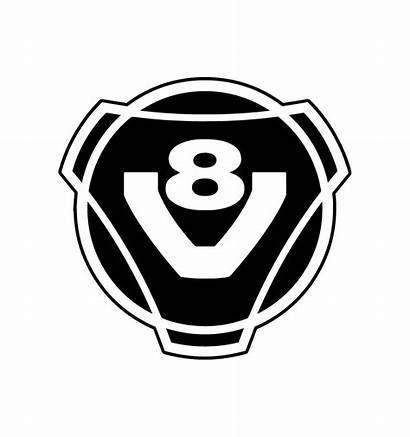 V8 Stickers Scania Rond Camions Developper