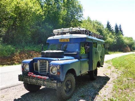 land rover  ambulance sur autoscout land rover defender monster trucks truck camper
