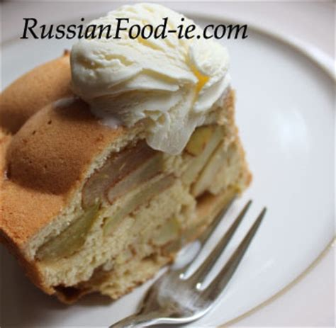 sharlotka russian apple cake russian food