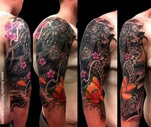 60 Japanese Sleeve Tattoos | Tattoofanblog