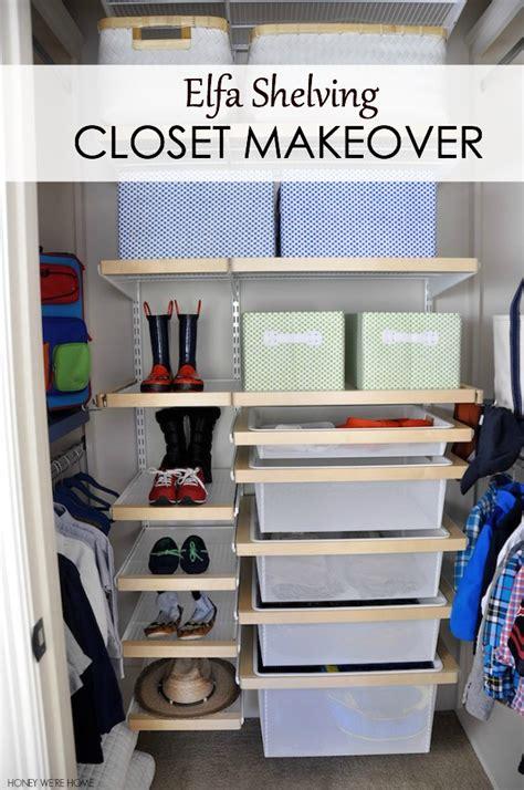 honey  home kid closet makeover elfa installation