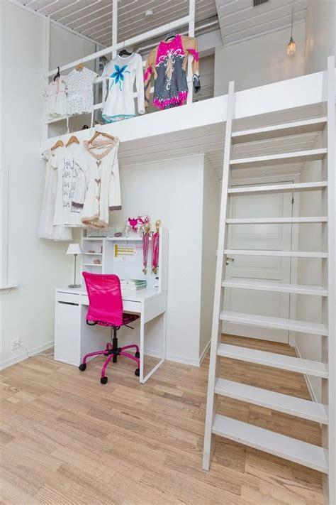 lit mezzanine fille avec bureau chambre ado fille avec lit mezzanine fabulous lit fille