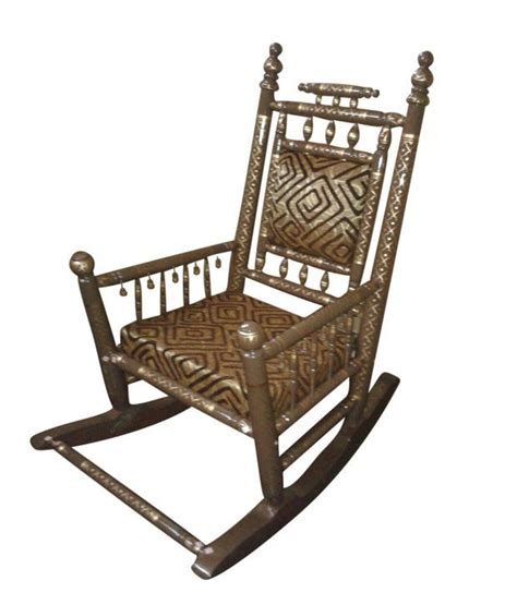 sangam multicolor traditional rocking chair buy at