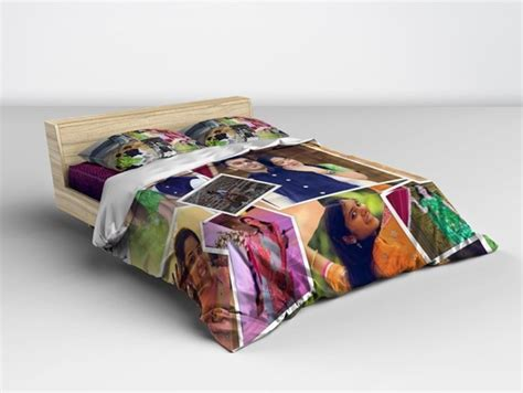 print personalized collage bed sheets in chennai