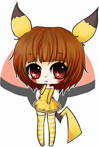 chibi pikachu girl by linkitty on DeviantArt