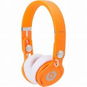 Beats By Dre Mixr Limited Edition Neon Orange Headphones