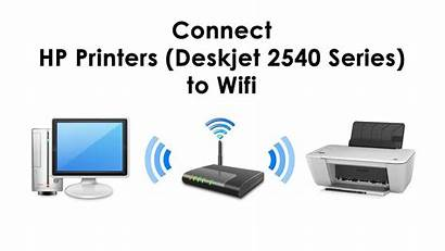 Hp 2540 Setup Wifi Printer Connect Deskjet