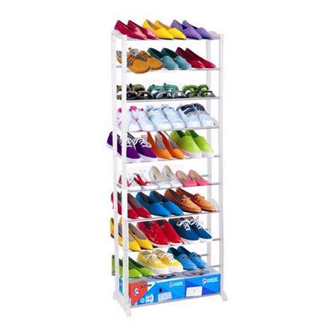 Rak Sepatu Empat Susun jual rak sepatu 10 susun amazing shoe rack rak sepatu