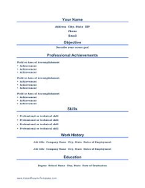 Resume Printer Forbidden by 1000 Images About Basic Resumes On Resume Templates Resume Exles And Resume