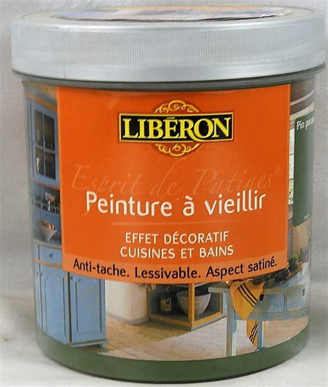 peinture cuisine liberon peinture à vieillir esprit de patines libé 1 l libé