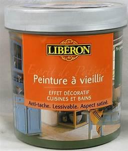 Peinture Libéron Pour Meuble : peinture vieillir esprit de patines lib ron 1 l lib ron ~ Dailycaller-alerts.com Idées de Décoration