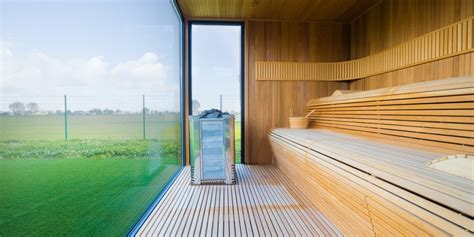 sauna ext 233 rieur une alternative int 233 ressante