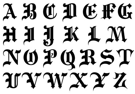 11 Calligraphy Alphabet Gothic Font Images  Old. Minion Eye Stickers. Number 13 Signs Of Stroke. Eye Protection Safety Signs. Il 26th Street Murals. Woodland Decals. Zerkaa Banners. Top Stickers. Leaf Lettering