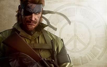 Boss Gear Metal Solid Walker Peace Mgs