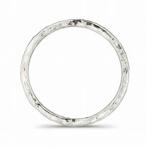 hammered wedding ring in fairtrade white gold frillybylily With white gold hammered wedding ring