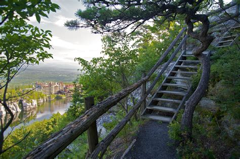 the hike house file mohonk mountain house 2011 hiking trail against guest