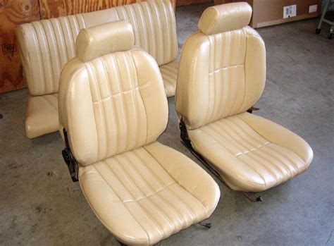 Fiat Spider Seats by Seat Upholstery Covers For Fiat 124 Sport Spider 2000