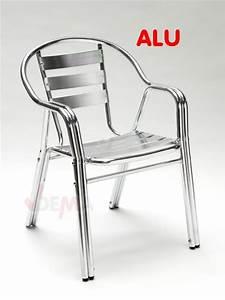 Chaise De Jardin Aluminium : table et chaise de jardin en aluminium le blog de l 39 atelier ~ Teatrodelosmanantiales.com Idées de Décoration