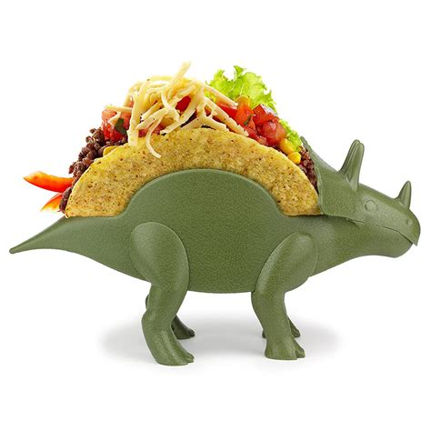 tricerataco triceratops taco holder the green