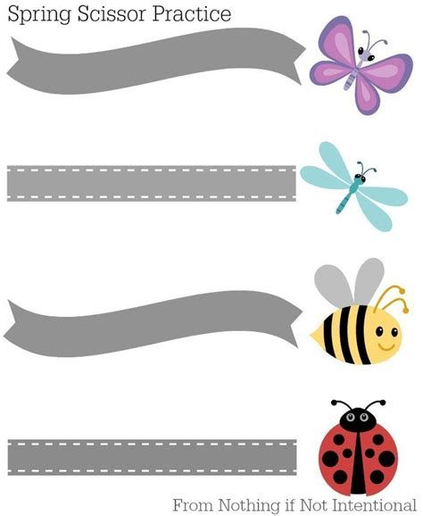 preschool scissors free printable cutting activities for preschoolers 916