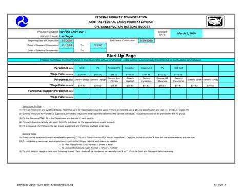 28 construction budget spreadsheet home building budget