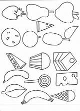 Caterpillar Hungry Coloring Very Pages Print sketch template