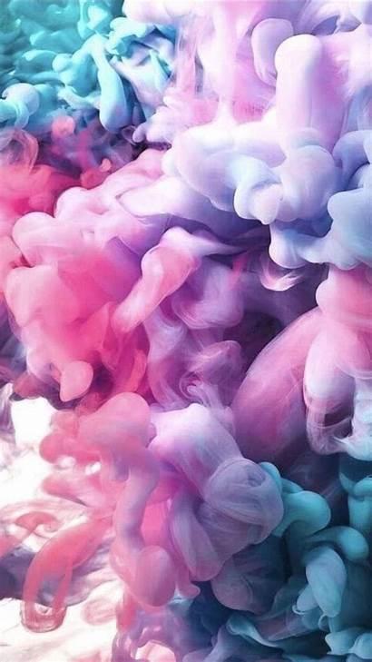 Girly Backgrounds Purple Turquoise Iphone Smoke Wallpapers