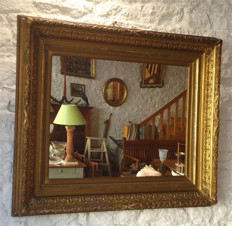 miroirs anciens bois dore beau miroir ancien encadrement bois et stuc dor 233