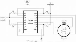 Conexionado Control Motor Paso A Paso A Arduino