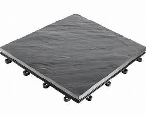 Schieferplatten Nach Mass : klickfliese schiefer 30 x 30 cm grau bei hornbach kaufen ~ Markanthonyermac.com Haus und Dekorationen
